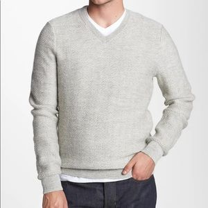 Vince Alpaca & Wool V-Neck Sweater